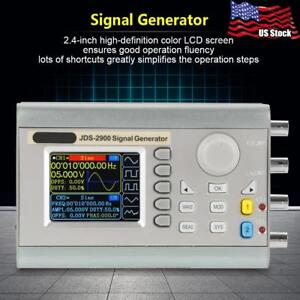 Jds2900 Dds Dual channel Signal Generator Source Frequency Counter Ac100 240v Us
