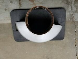 Hobart Replacement Bowl Splash Guard For H600 Mixer Used Condition