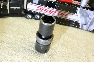 Snap On 1 2 Drive 6 Point Sae 3 4 Shallow Swivel Impact Socket