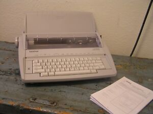 Vintage Brother Gx 6750 Electronic Typewriter User s Guide Very Good Working