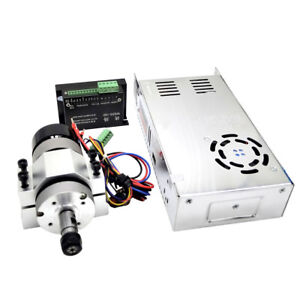 400w 12000rpm Chuck Cnc Brushless Spindle Motor Driver Speed Controller