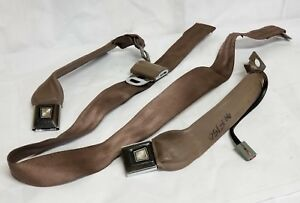 94 Ford 150 Seatbelt Buckle Driver And Passenger Side Brown Sept Bdp1