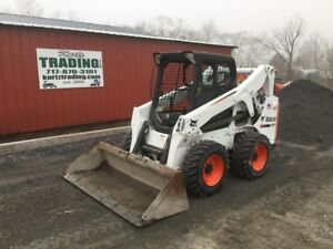 2012 Bobcat S650 Skid Steer Loader New Tires Only 400 Hours