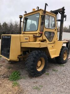 Cat R80 4 Wheel Drive Forklift