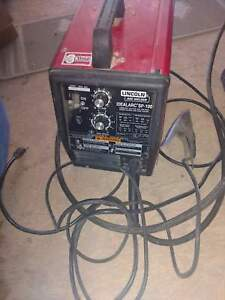 Lincoln Electric Wire Feed Mig Welder Sp 100 Idealarc Arc 115 Volts Welder