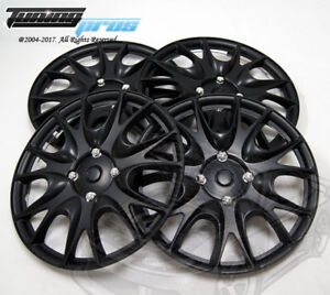 4pcs Qty 4 Wheel Cover Rim Skin Cover 14 Inch Style 533 14 Hubcap Matte Black