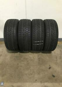 4x Take Off P225 40r18 Continental Controlcontact Sport As 10 32nds Used Tires