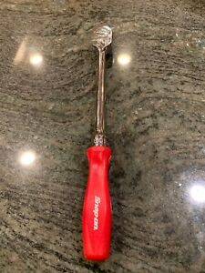 New Snap On 3 8 Drive Red Long Hard Handle Ratchet Fhld80