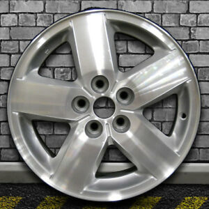 Machined Sparkle Silver Oem Wheel For 2003 2005 Chevy Cavalier 15x6