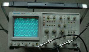 Tektronix 2465b 400 Mhz Oscilloscope Calibrated Sn b014752 30day Warranty