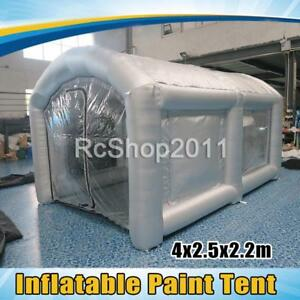 Inflatable Car Workstation Spray Paint Booth Painting Booth Tent 4x2 5x2 2m Us