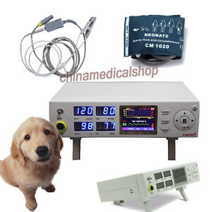 Veterinary Patient Monitor Nibp Spo2 Pulse Rate Measuring For Cat dog animal Use