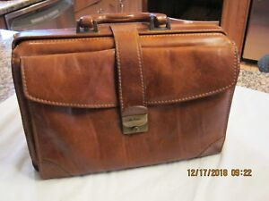 Vintage The Bridge Leather Doctor S Bag Made In Italy Beautiful