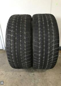 2x P305 40r22 Goodyear Fortera Sl 9 32nds Used Tires