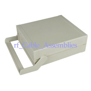 Plastic Shell Electronic Chassis Desktop Instrument Box Case Diy 280 238 88mm