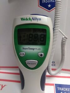 Welch Allyn Suretemp Plus 690 Thermometer Oral raxillar infant adult Use