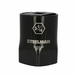 Steelman 2 9 16 In 6 Point Locknut Socket 3 4 In Drive 60255 04