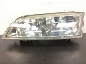 94 97 Accord Left Driver Headlight Beam Unit Lamp Light Plastic Lens Used Oem