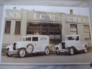 1930 1931 Chevrolet Sedan Delviery An Pickup Truck 11 X 17 Photo Picture