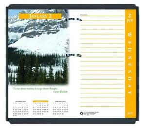 House Of Doolittle 2019 Desk Calendar Refill Daily Earthscapes Fits 17 Base