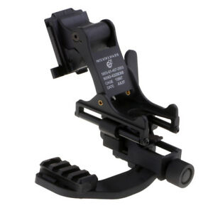 Fast MICH Tactical Helmet NVG Mount J-Arm for Magnifier Night Vision Goggles