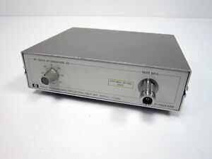 Hp Agilent 8502a Transmission reflection Test Set 500khz 1 3ghz