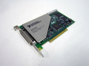 National Instruments Pci 6052e 333 Ks s 16 bit 16 analog input 185489c 01