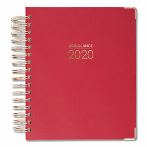 Harmony Daily Hardcover Planner 6 7 8 X 8 3 4 Berry 2020