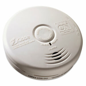 Kitchen Smoke carbon Monoxide Alarm Lithium Battery 5 22 dia X 1 6 depth