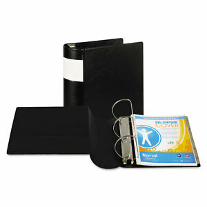 Dxl Heavy duty Locking D ring Binder With Label Holder 3 Rings 5 Capacity 11