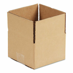 Fixed depth Shipping Boxes Regular Slotted Container rsc 12 X 12 X 8 Bro