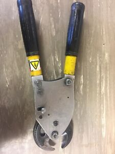 H k p Porter 6990fs 14 Compack Ratcheting Cable Cutter For Aluminum