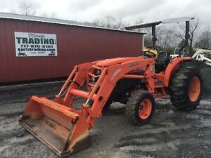 2011 Kubota L4740 4x4 Compact Tractor W Loader Coming Soon