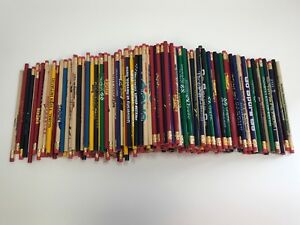 500 Lot Misprint Pencils With Rubber Eraser 2 Lead School Home Office Lot