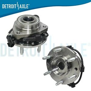 Chevy Trailblazer Gmc Envoy 2 Front Wheel Bearings Hub Cv Nuts 2002 2009
