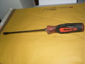 Snap On Sgd10b 3 8 Flat Slotted Screwdriver Soft Grip Usa