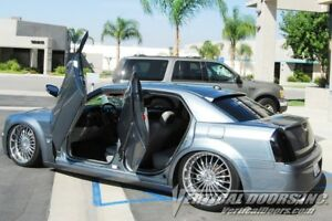 Vertical Doors Vertical Front Rear Lambo Door Kit For Chrysler 300 2004 10