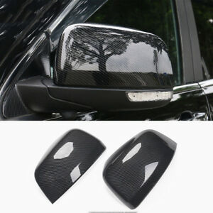 Carbon Fiber Abs Rear view Mirror Cover Trim For Jeep Grand Cherokee 2011 2017