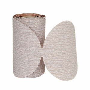 5in Blank Champagne Magnum Psa Disc Roll Sanding Sheets P320b Grit 1 Ea