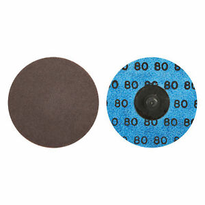 Norton 66261121034 Power Sander Quick Change Discs Size 3 80 Grit  50 EA