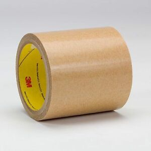 3m Adhesive Transfer Tape 927 Clear 0 5 In X 60 Yd 2 Mil 72 Rolls Per Case