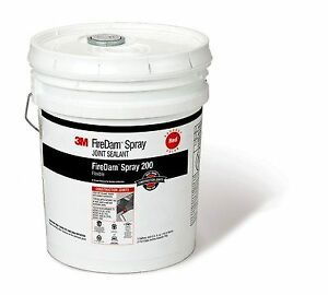 3m fd200 red Firedam Spray 200 Red 5 Gallon Pail Price Is For 1 Pail