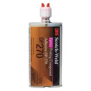 3m Scotch weld Epoxy Potting Compound Dp270 Black 200 Ml 12 Per Case 12 Each