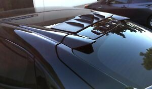 Type R 2pc Roof Wing And 4pc Roofline Vortex For 2017 18 Honda Civic Hatchback