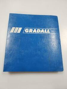 Gradall G3wd Hydraulic Excavator Assembly Manual Upperstructure undercarriage