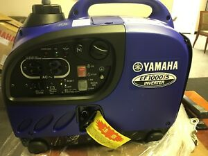 Yamaha Ef1000is Inverter Generator new In Box With Damaged Case