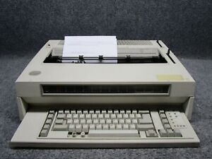 Vintage Ibm Wheelwriter 15 Series Ii Model 6783 2 Electric Typewriter tested