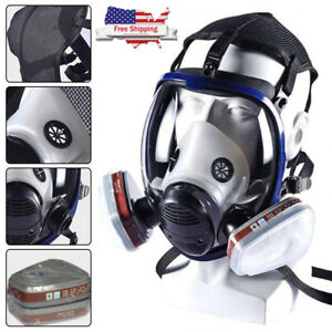 3m 6800 7 In 1 Facepiece Respirator Painting Spraying Full Face Gas Mask Us