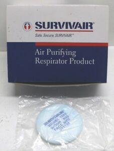 Box Of 24 Survivair Air Purifying N95 Respirator Particulate Filters Pads 106010