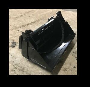 Mtl Attachments 48 Toro Dingo vermeer 4 In 1 Hydraulic Bucket Mini Skid Steer